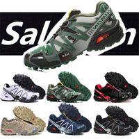 Wholesale male massage online - New Salomon Speed cross CS Sport Mens Outdoor Shoes Breathable Zapatillas Hombre Mujer Male Fencing Sneaker Speed Cross EUR