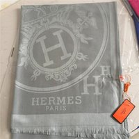 Wholesale brand shawl for sale - Group buy Spring autumn soft cotton shawl fashion men s and women s brand scarf classic yarn dyed pattern plain cotton scarf