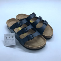 ingrosso scarpe in pelle clog-Casual Sandali estivi Unisex PU Leather Florida Berks Sandali 3 cinghie zoccoli in vendita Birko Styles Slide per adolescenti Family Matching Shoes