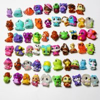 Wholesale capsule toys for sale - Group buy 3D small animals suitable for twist egg capsule toys display dolls pen cover children s collection