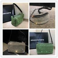taschen mini diamant großhandel-Designer Luxus Handtasche Brieftasche Top-Qualität Flash Diamond Fashion Womens Tote Bag berühmten Designer Umhängetasche