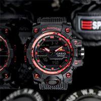 смотреть мужчин оптовых-2019 горячие Подлинная HUGO BOSS Casio мужские многофункциональные Кварцевые часы Бизнес Цифровые электронные часы мужские кварцевые Наручные часы