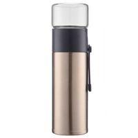 сепараторы фильтров оптовых-Golden 400ml Home Kitchen Vacuum Flask Thermos Two Types Of Filter  Cup Separator Drinking Utensils