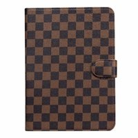 ingrosso custodia antiurto per l'aria di ipad-Flip Wallet Designer Custodia per iPad Custodia in pelle per tablet PC Monogram per Apple iPad Pro 12.9