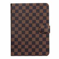 Wholesale apple ipad tablet skins resale online - Flip Wallet Designer iPad Case Monogram Leather Tablet PC Cases For Apple iPad Pro quot Air Shockproof For iPad mini