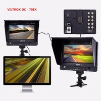 monitor para cámara réflex digital al por mayor-Freeshipping - 70EX Professional 7 pulgadas TFT pantalla HDMI Cámara Video Monitor para DSLR