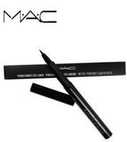 marka kalem satışı toptan satış-Sıcak satış mac makyaj M macs marka göz kalemi Döner Geri Çekilebilir Siyah Eyeliner mac'ler Kalem Kalem mc Göz Yeni Hottest Göz Kalemi.