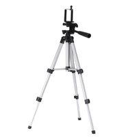 видеокамеры оптовых-Mount Holder Camera Tripod Stand Foldable Travel Outdoor Adjustable Portable Timer Shoots For Digital Camera Camcorder Phone