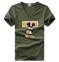t-shirt impresso verão menina venda por atacado-Novo verão mulheres homens casual T-shirt Meninos meninas tee design Italiano impressão de manga curta tops estudantes T-shirts # 058