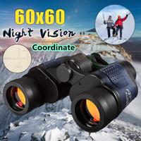 telescope scope 도매-높은 품질 60X60 광학 망원경 나이트 비전 쌍안경 3000 메터 쌍안경 스포팅 범위 야외 사냥 스포츠 접안