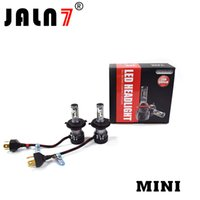 Wholesale led headlight conversions for sale - Group buy MINI LED Headlight Bulbs W Lm K Cool White Extremely Bright mm Heatsink Base CREE Chips Hi Lo Conversion Kit of