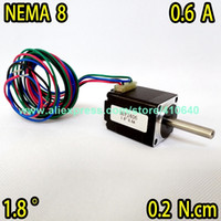 Wholesale stepper nema driver for sale - Group buy Sales Nema Stepper Motor hy2406 Mini Size Stepping Motor a Current N cm Torque With Lead Wires From Factory