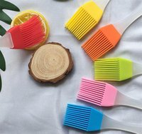 Silicone Butter Brush BBQ Oil camping Cook Pastry Grill Food Bread Basting Brush Bakeware Kitchen Dining Tool