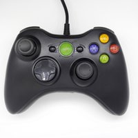 Wholesale sale xbox games resale online - Hot sale USB Game Pad Controller Gamepads For Microsoft Xbox Console For PC Windows Wired Gamepad