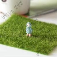 ingrosso paesaggio verde del prato inglese-Micro paesaggio creativo simulazione muschio bottiglia ecologica prato decorativo giardinaggio fai da te prato decorativo vegetazione verde giardino forniture