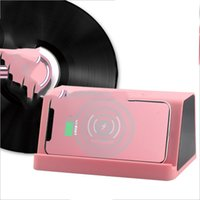 Wholesale Creative smart mini card speaker wireless charging bass Bluetooth speaker hot items