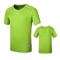 camiseta de prata rápida venda por atacado-ZYNNEVA Verão Quick Dry T-shirt Tees Tecido de Ion Prata Respirável de Manga Curta Camisas de Esportes Das Mulheres Dos Homens Coolmax Tops GC2102