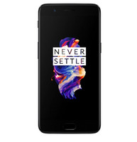 oneplus phone großhandel-Eins plus 5 Oneplus 5 A5000 4G LTE-Handy Snapdragon 835 Android 7.0 5.5