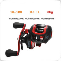 Wholesale spinning reel left hand resale online - Speed Ratio Saltwater Spinning Wheel BB Metal Baitcasting Outdoors Fishing Reel Long Shot Left Right Hand Fashion Fishing Wheel