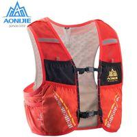 mochilas de hidratación de vejiga al por mayor-Paquete de hidratación Mochila Mochila Bolsa chaleco arnés de agua de la vejiga que va de excursión corriente del maratón Carrera Escalada 5L