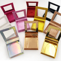 cosméticos falsificados venda por atacado-Caixa de Cílios Magnéticos 3D Cílios Vison Caixas de Cílios Postiços Falsos Embalagem Caixa Vazio Pestana Caixa de Ferramentas Cosméticas RRA1844