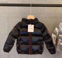 veste bébé garçon 12 18 mois achat en gros de-2020 nouveaux garçons vers le bas manteau chaud épais enfants veste hiver vers le bas épaississement manteau vêtements de plein air vestes pour garçons vêtements de dessus les enfants