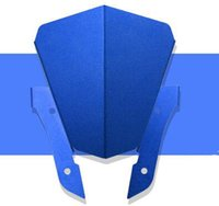 pára-brisa azul para motocicleta venda por atacado-Motocicleta Ridea Moto Fit MT07 pára-brisas Pára-brisas Modificação MT07 FZ-07 azul