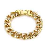 Wholesale china ornaments traditional resale online - Accessories Diamond Cuba Bracelet Personality Man Bracelet Ornaments
