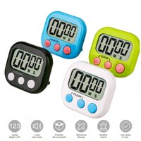 Wholesale game timers for sale - Group buy Digital Kitchen Timer Big Digits Loud Alarm Magnetic Backing Stand with Large LCD Display for Cooking Baking Sports Games