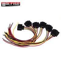 Wholesale vw ignition coils resale online - WOLFIGO New Ignition Coil Connector Repair Kit Harness Plug Wiring For VW SEAT J0973724 K0973724