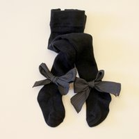 Wholesale hose tights resale online - Newborn Baby Girls Solid Panty hose Vertical Stripe Bowknot Leggings Warm Spring Autumn Stockings Dance Ballet Socks