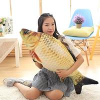 ingrosso grandi cuscini del divano-Cuscino decorativo di grande forma di pesce Cuscino di tiro con cuscini per dormire