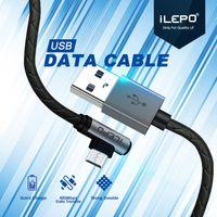 cabo usb reversível venda por atacado-Cabo micro usb para xiaomi andrid reversível micro usb cabo de dados do carregador para samsung eu telefone cabo de carregamento 2.4a 120 cm de varejo