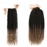 Wholesale freetress braiding hair for sale - Group buy Spring Twist Synthetic Crochet Braids Freetress Hair with Water Weave Curly In Pre Twist inch Free Tress Hair Bulks Passion Twist Newest