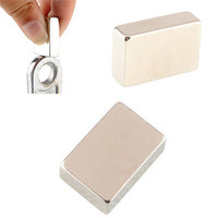 Wholesale earth neodymium magnets for sale - Group buy 1Pc Neodymium Block Magnet Square x20x10mm Super Strong Rare Earth Magnets