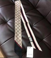 ingrosso sciarpa a righe gialle-Sciarpa di design per signore sottile borsa a manico stretto sciarpa di seta stampa fronte-retro in twill di cotone con piccolo nastro