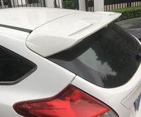 ala de enfoque al por mayor-Para Focus Alerón 2012-2015 Ford Focus Hatchback QBK Alerón del ABS Material plástico posterior del coche del ala del color del alerón trasero