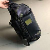 männer beiläufige schulter kleine tasche großhandel-AAAAAAAA ++++++++ Ballistic Nylon tumi-232399 Männer kleine Tasche Umhängetasche Business Casual Rucksack Umhängetasche Brusttasche Tasche