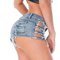 micro denim shorts venda por atacado-Oco Tassel baixo crescimento cintura Hot Curta Alta Corte Sexy Denim Booty Sexy Jeans Shorts Vintage Micro bonito Mini Curto Roupa de Discoteca 33