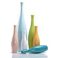 europäisches porzellan großhandel-Europäischen stil Keramik Vase bunte blume flasche Schmuck Handwerk büro Porzellan Vase Wohnkultur Innenausstattung