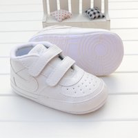 Wholesale crochet babies shoes for sale - Group buy Designer Baby First Walker High Quality Baby Sneakers New Born Baby Girls Boys Soft Sole Shoes Toddler Kids Prewalker Infant Casual Shoes