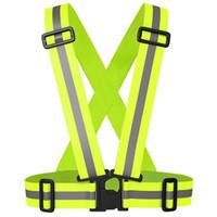 sichtbare jacke groihandel-Fahrrad Sicher Reflektierende Sicherheitsweste für Bauverkehr Lager Sichtbarkeit Sicherheit Jacke Reflexstreifen tragen Uniformen