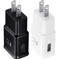 Wholesale usb pc dock resale online - Fast Adaptive Eu US V A Wall charger USB Power Adaper Wall chargers For Samsung s6 s7 edge s8 s9 s10 note htc iphone x gps pc
