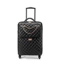 bagage de voyage en cuir achat en gros de-Spinner Leather 2025