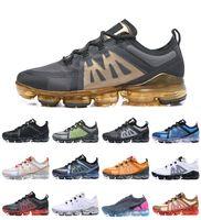 max sell venda por atacado-Venda quente 2019 Vapores 2.0 BE TRUE Designers Homens Mulher Sapatos de Choque Para a Qualidade Real Moda Mens Rainbow Maxes Sneakers Run UTILITY sapatos