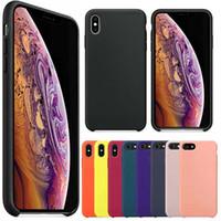 transparenter silikonkasten für iphone großhandel-Erstklassiger Silikonkasten für neues iPhone 2019 iPhone XS maximales XR XS 8 plus Telefon-Silikon-Abdeckungs-Kasten für Apple mit Paket