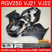 Wholesale fairing 1989 for sale - Group buy Bodys For SUZUKI RGV250 VJ21 SAPC matte black hot Frame HC RGV RGV VJ22 Fairing