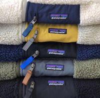 ingrosso cappotti hombre-Fashion-2020 Patagonia Mens giacca designer cappotti Agnello Sheepin caldo pile cappotto Outdoor Hombres Jacket