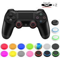 Wholesale ps4 and xbox one controller for sale - Group buy 4 Silicone thumbstick caps thumb grip caps for PS4 PS3 Xbox one and Xbox360 controllers