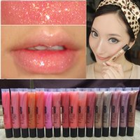 Wholesale lip tint lipstick resale online - Long Lasting Moisturizer Glitter Lip Gloss Tint Cosmetics Nutritious Shimmer Liquid Lipstick Beauty Lips Makeup Tool RRA1372